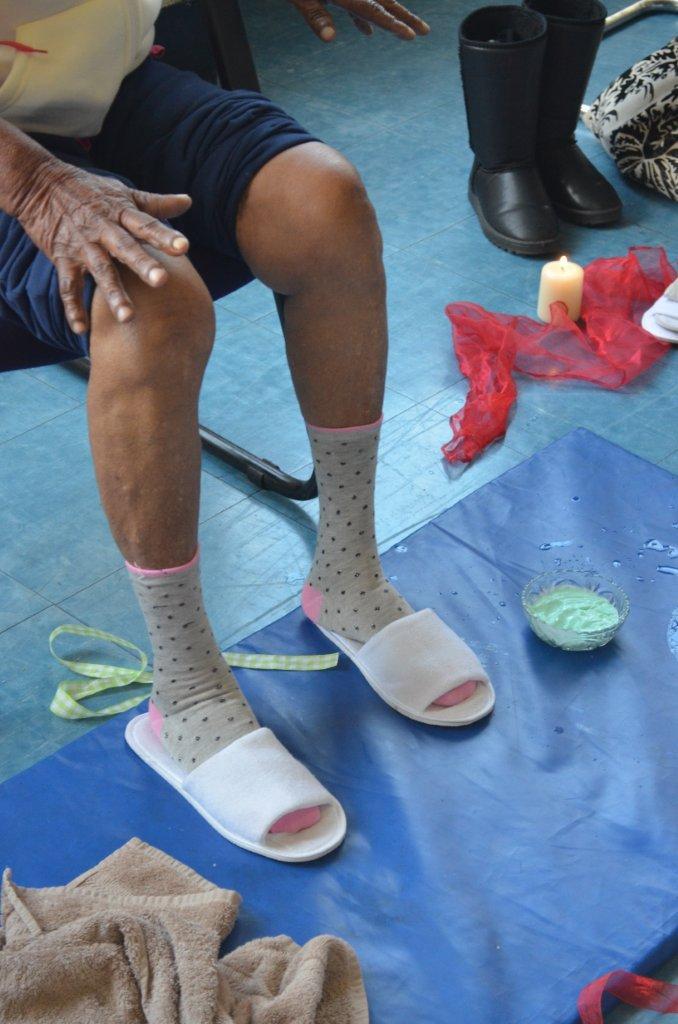 Cosy Comfy Toes after a foot massage